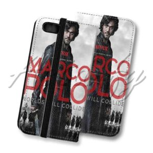 Astanfy Marco Polo Custom Leather Wallet Phone Case